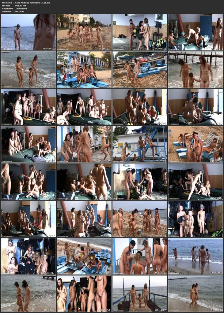Land And Sea Naturism pt2