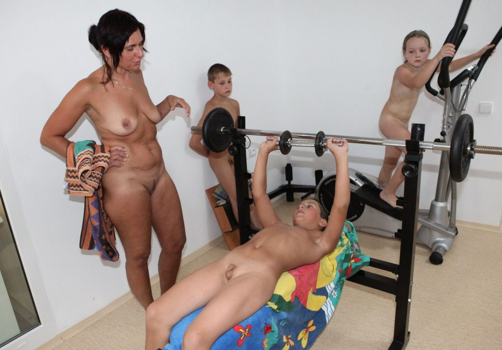 nudist teen party masks naked