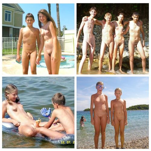 Famely nudism have pass