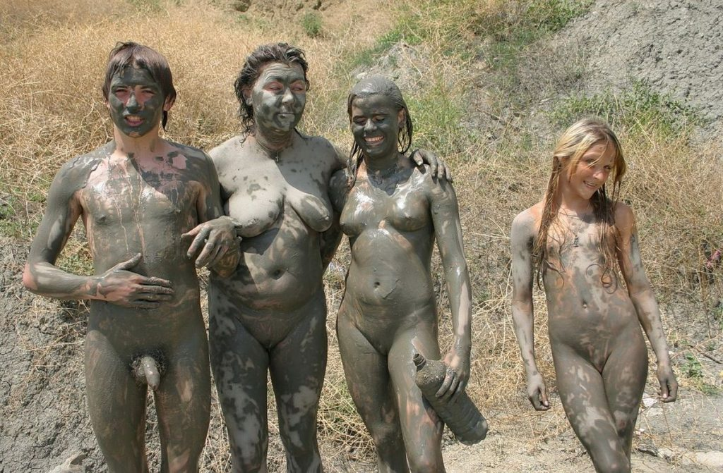 We Are Covered In Mud