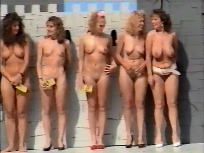 Miss nude pageant contest think