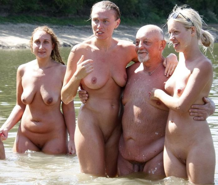 Family Nudist Waters