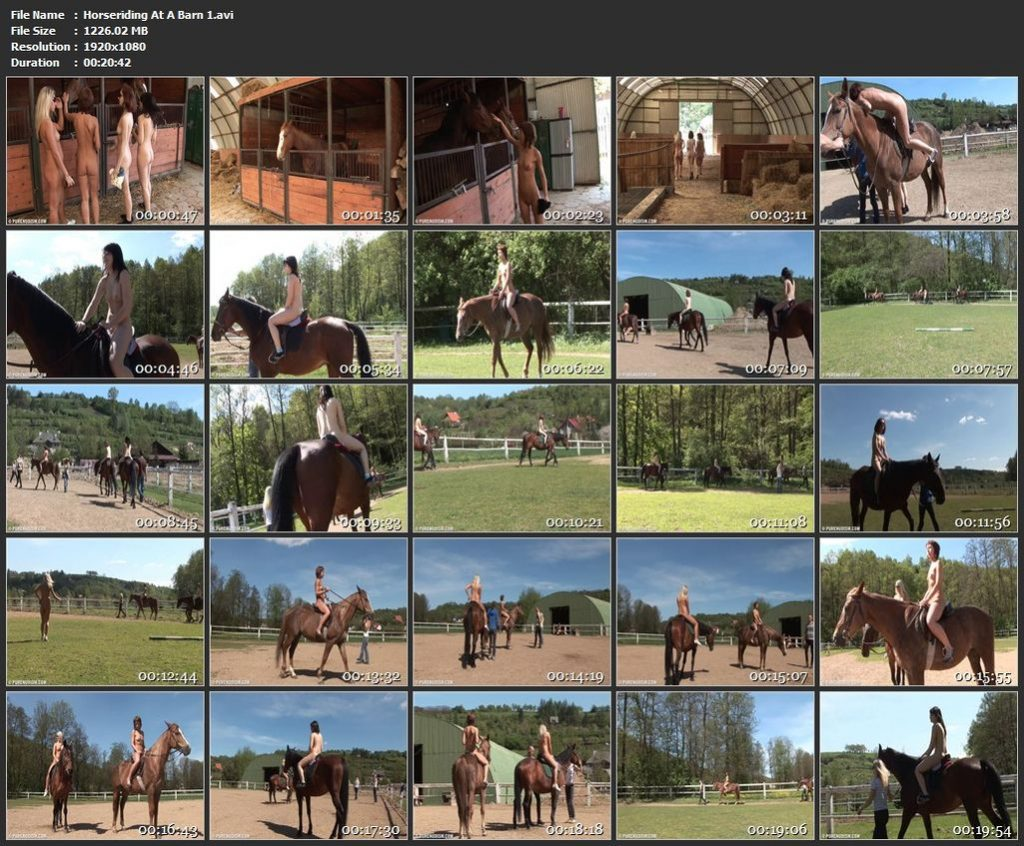 Horseriding At A Barn pt1