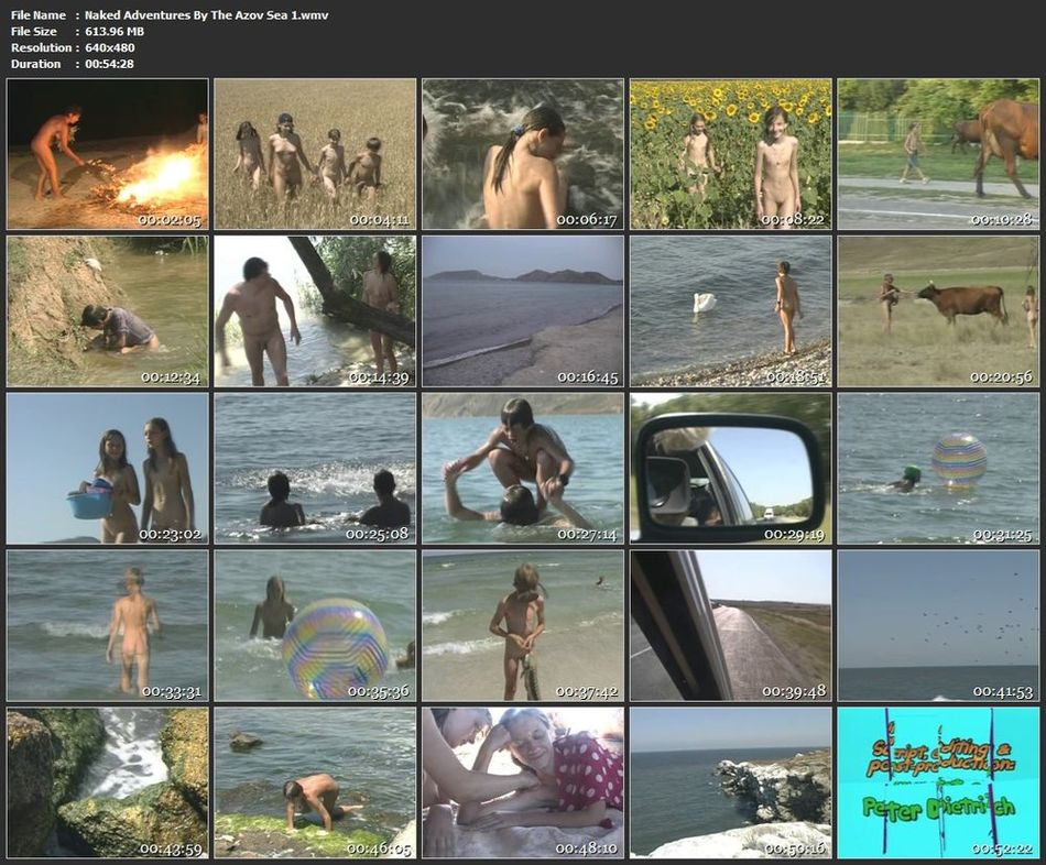 Naked Adventures By The Azov Sea 1