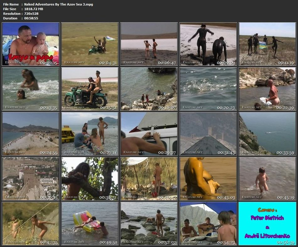 Naked Adventures By The Azov Sea 3