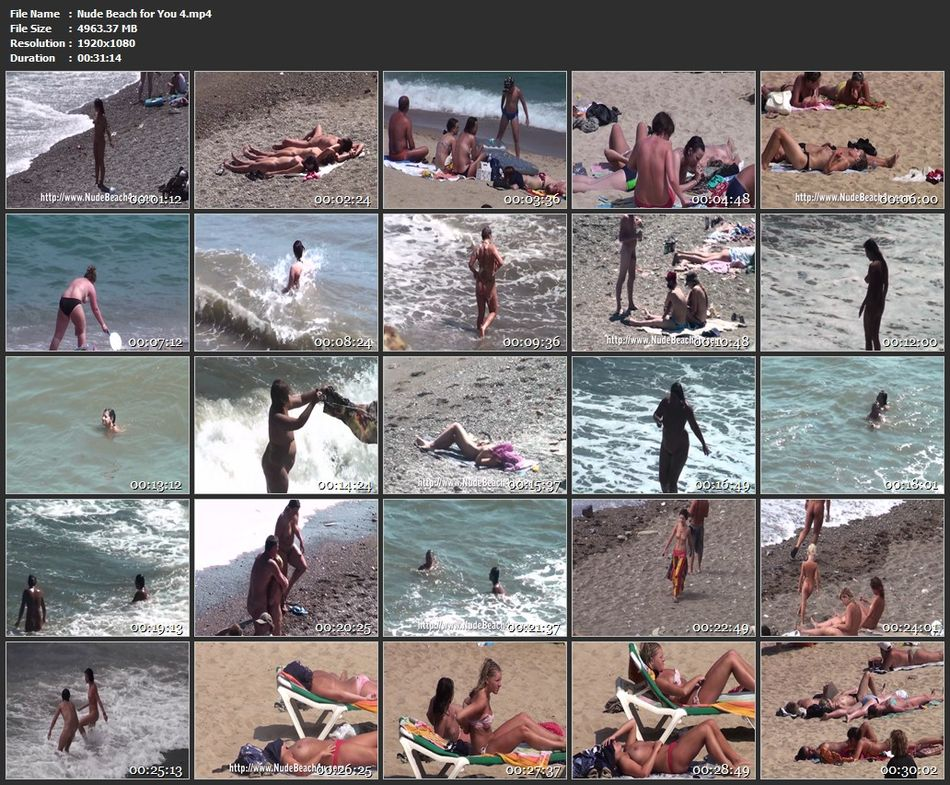 Nude Beach for You 4