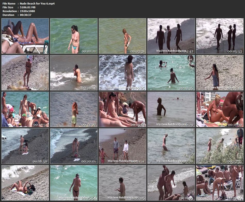 Nude Beach for You 6