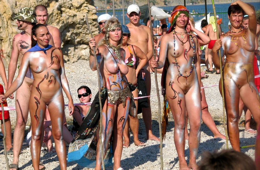 Nude Beach Life of Russian Naturists 1
