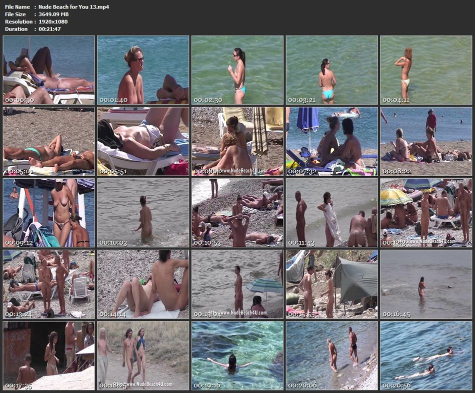 Nude Beach for You 13