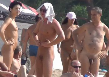 Nudist beach in summer is a wonderful place 11