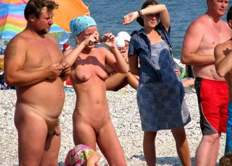 Nude Beach Life of Russian Naturists 7