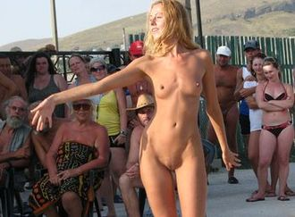 Nude Beach Life of Russian Naturists 9