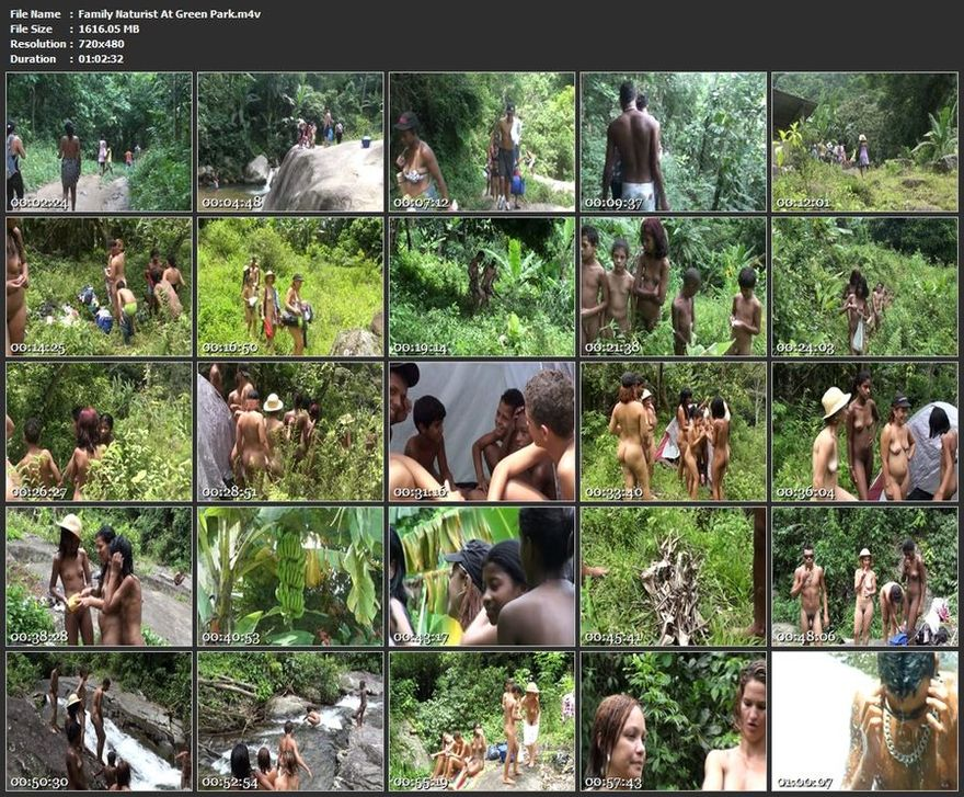 Family Naturist At Green Park