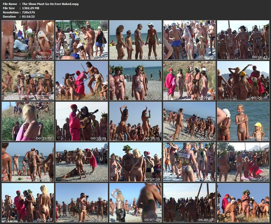 The Show Must Go On Ever Naked Russian Family Nudism